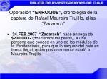 operaci n enroque cronolog a de la captura de rafael maureira trujillo alias zacarach3