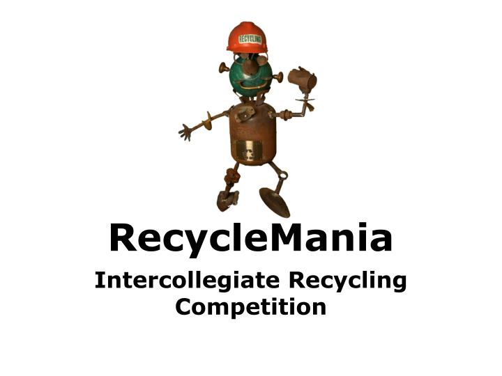 recyclemania n.