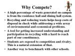 why compete