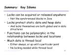 summary key idioms