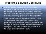 problem 3 solution continued28