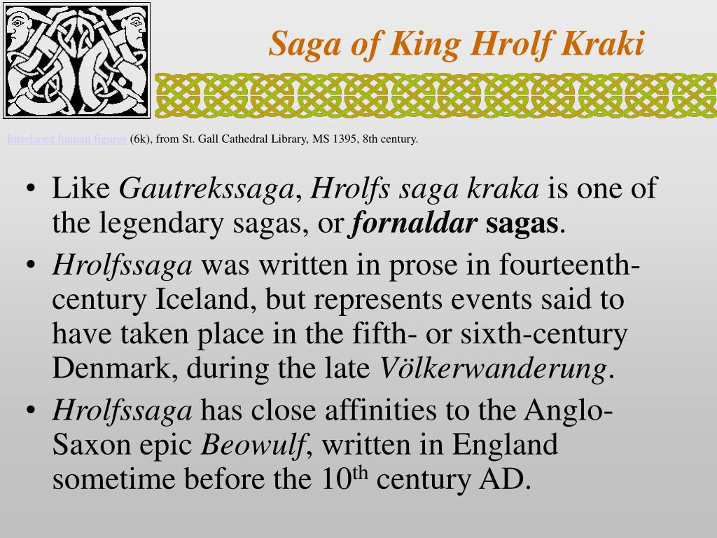 saga of king hrolf kraki l.