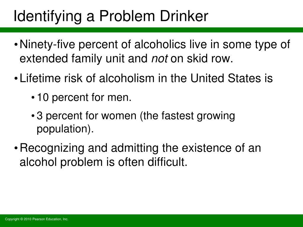 Identifying a Problem Drinker