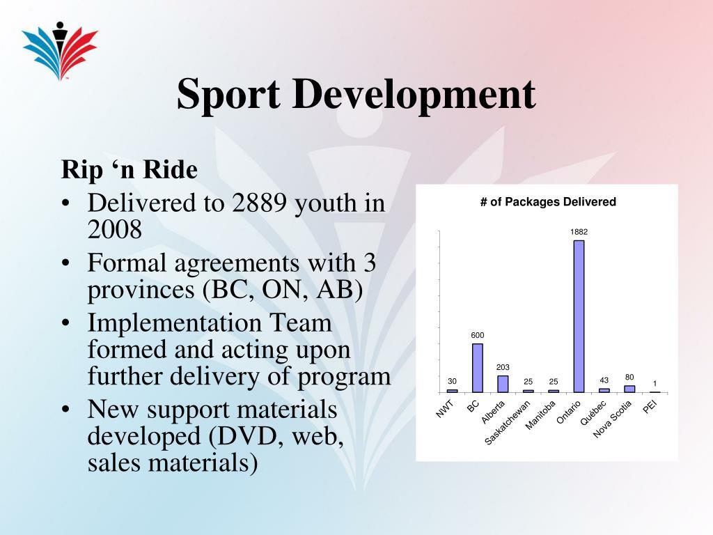 Sport Development