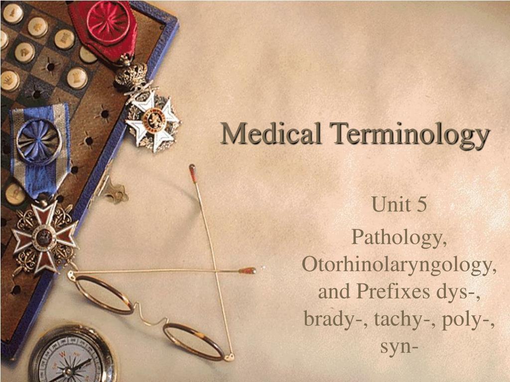 medical terminology l.