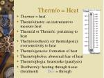 therm o heat
