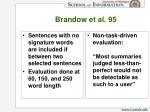 brandow et al 9525