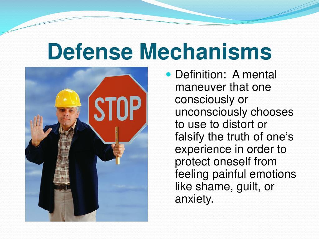 Ppt Defense Mechanisms Powerpoint Presentation Free Download