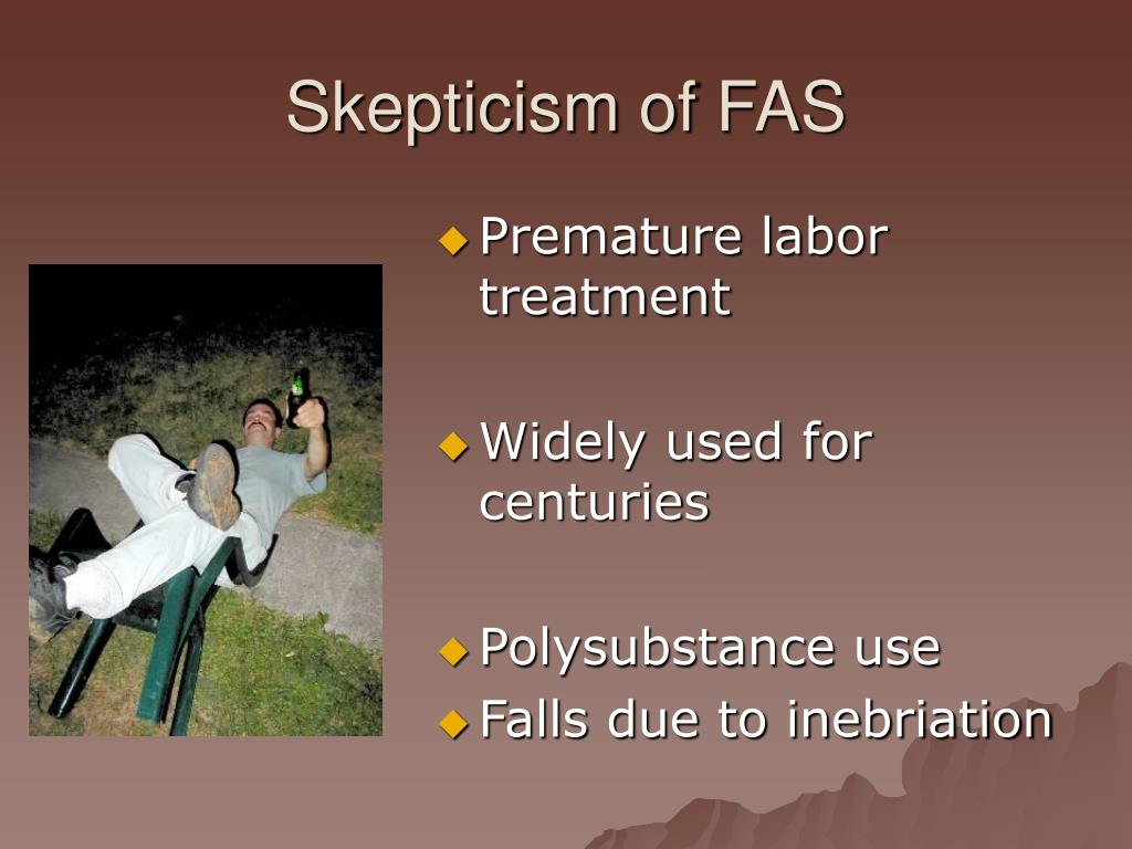 Skepticism of FAS