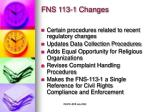 fns 113 1 changes