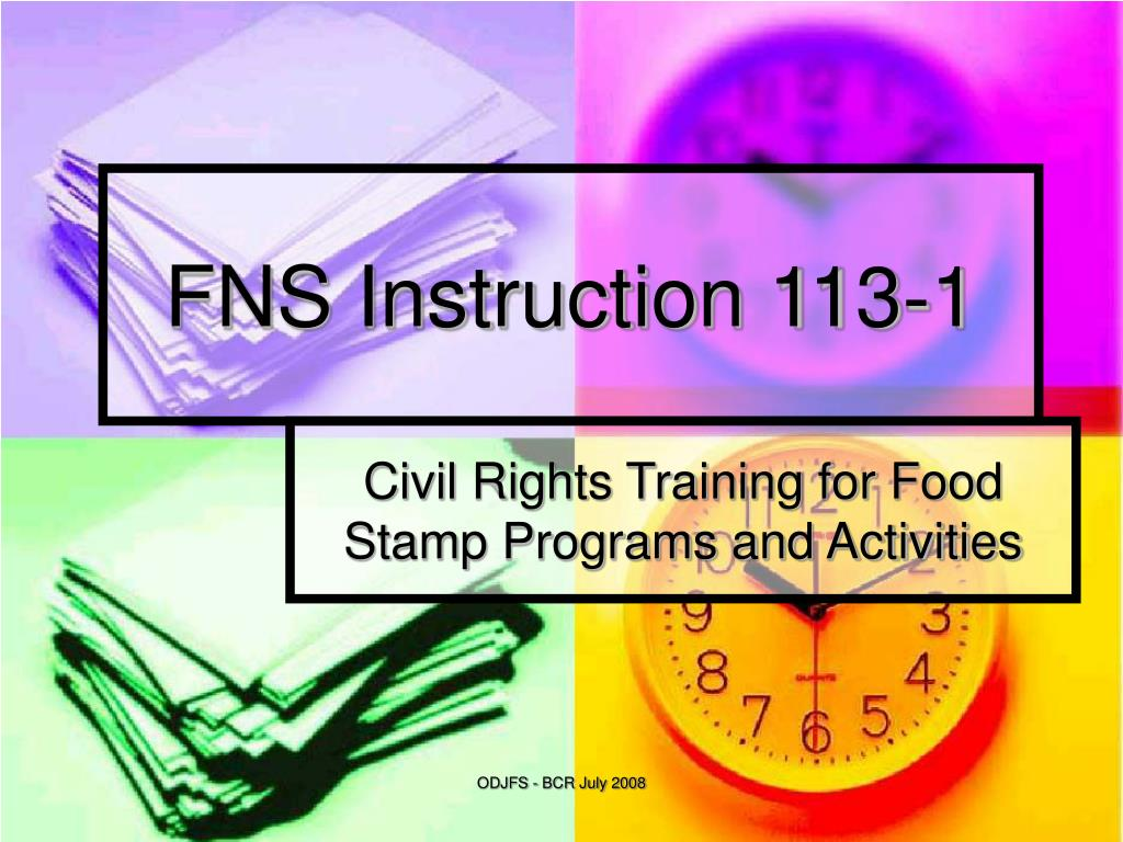 fns instruction 113 1 l.