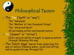 philosophical taoism