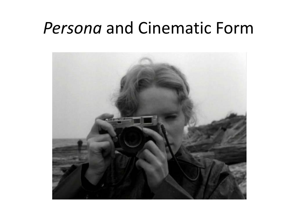 persona and cinematic form l.