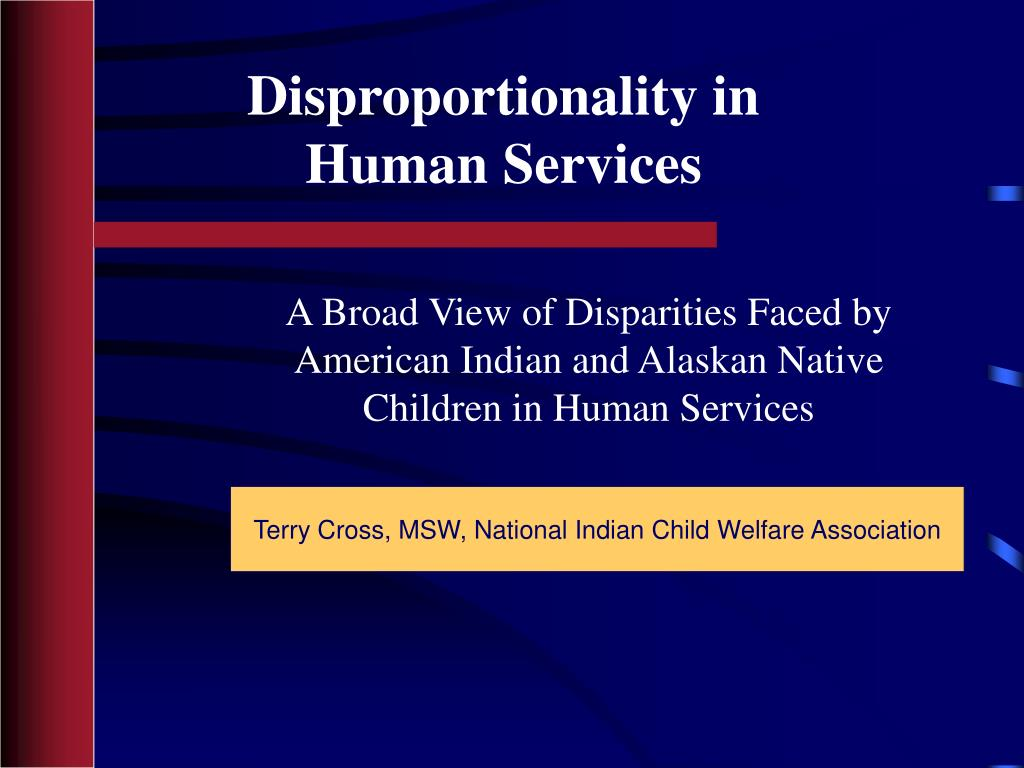disproportionality in human services l.