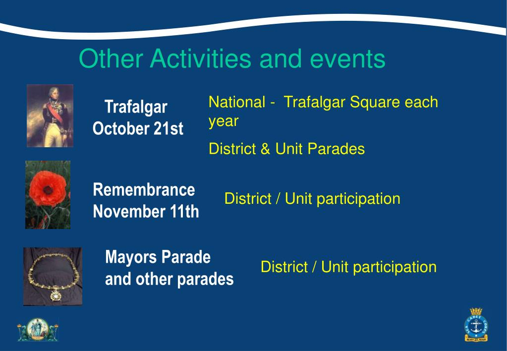 Other Activities and events
