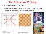 the 8 queens problem16