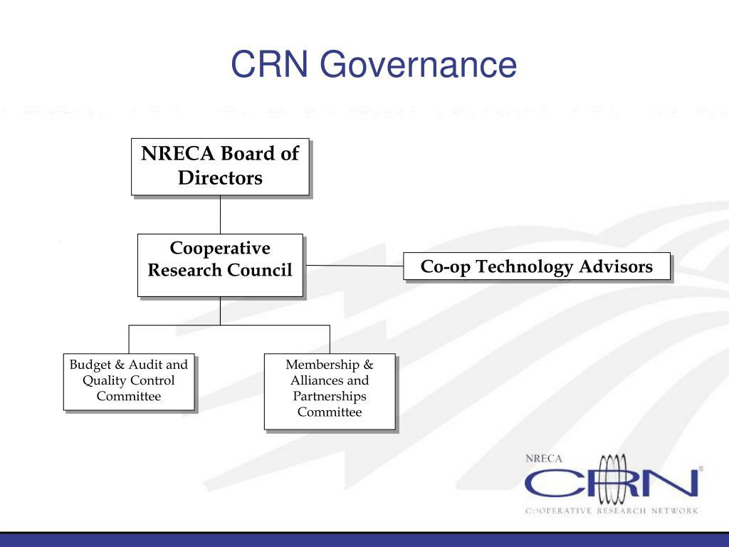 CRN Governance