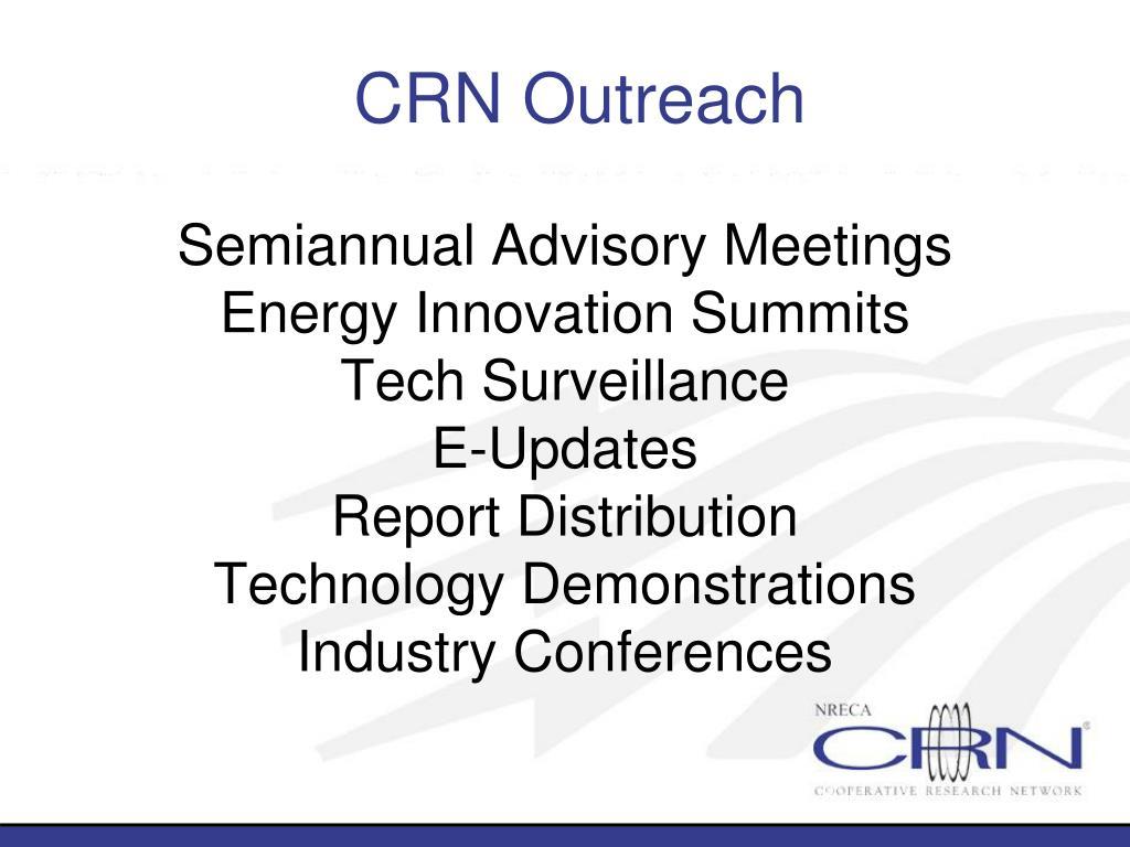 CRN Outreach