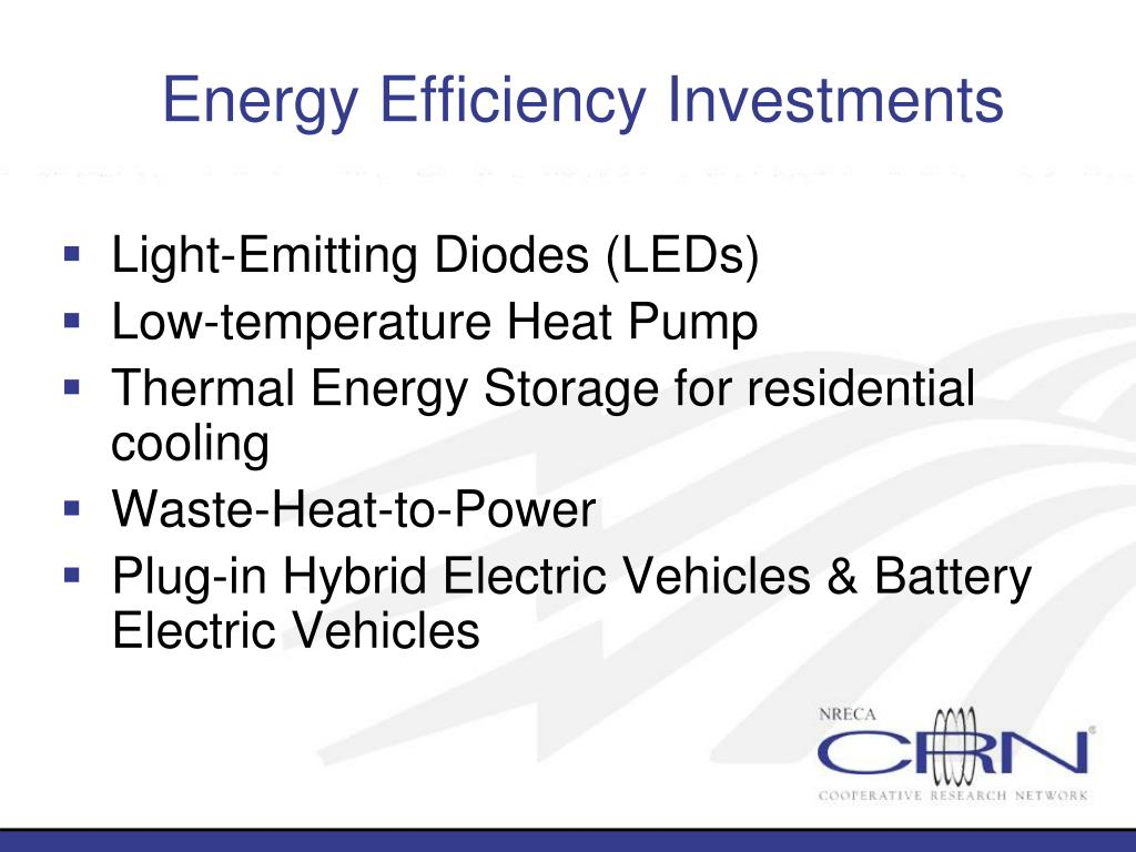 Energy Efficiency Investments