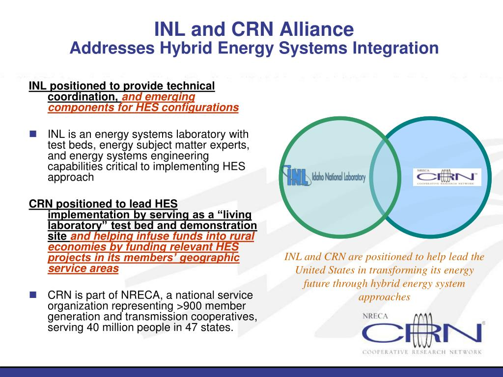 INL and CRN Alliance