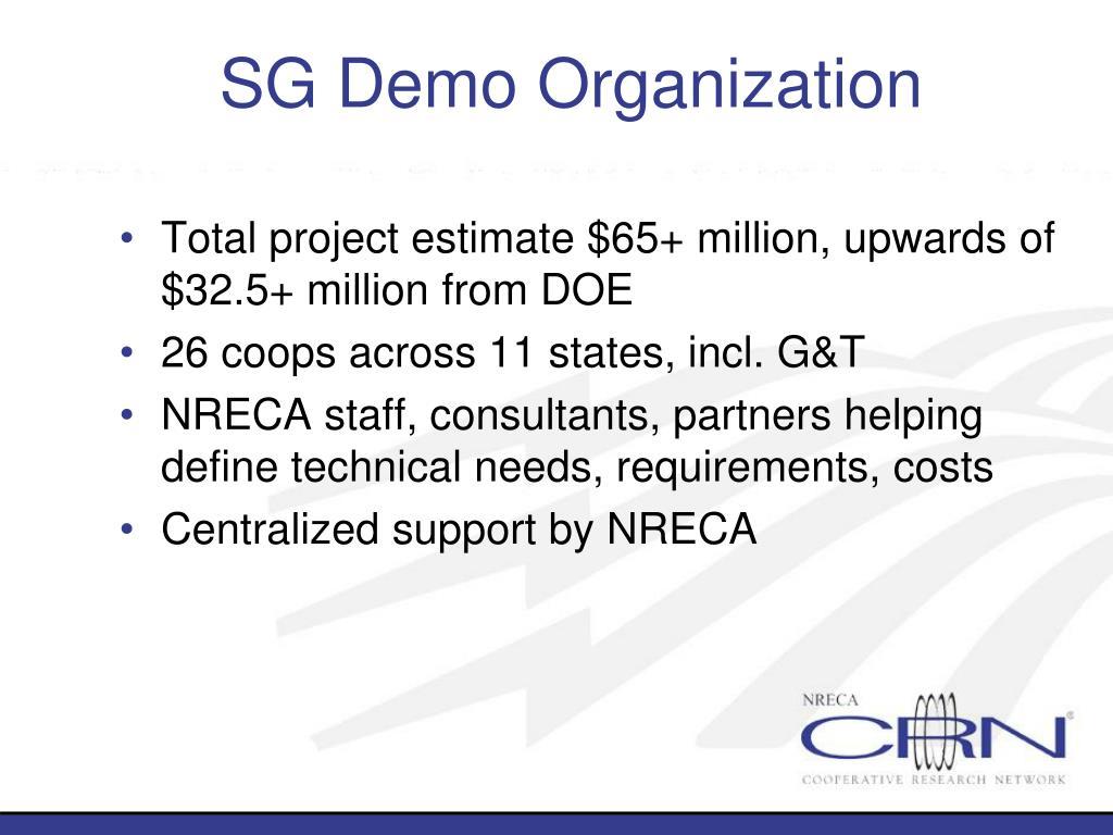 SG Demo Organization