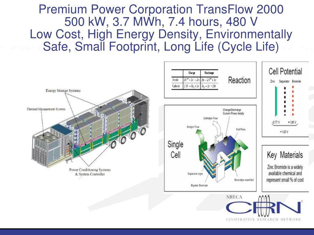 Premium Power Corporation TransFlow 2000