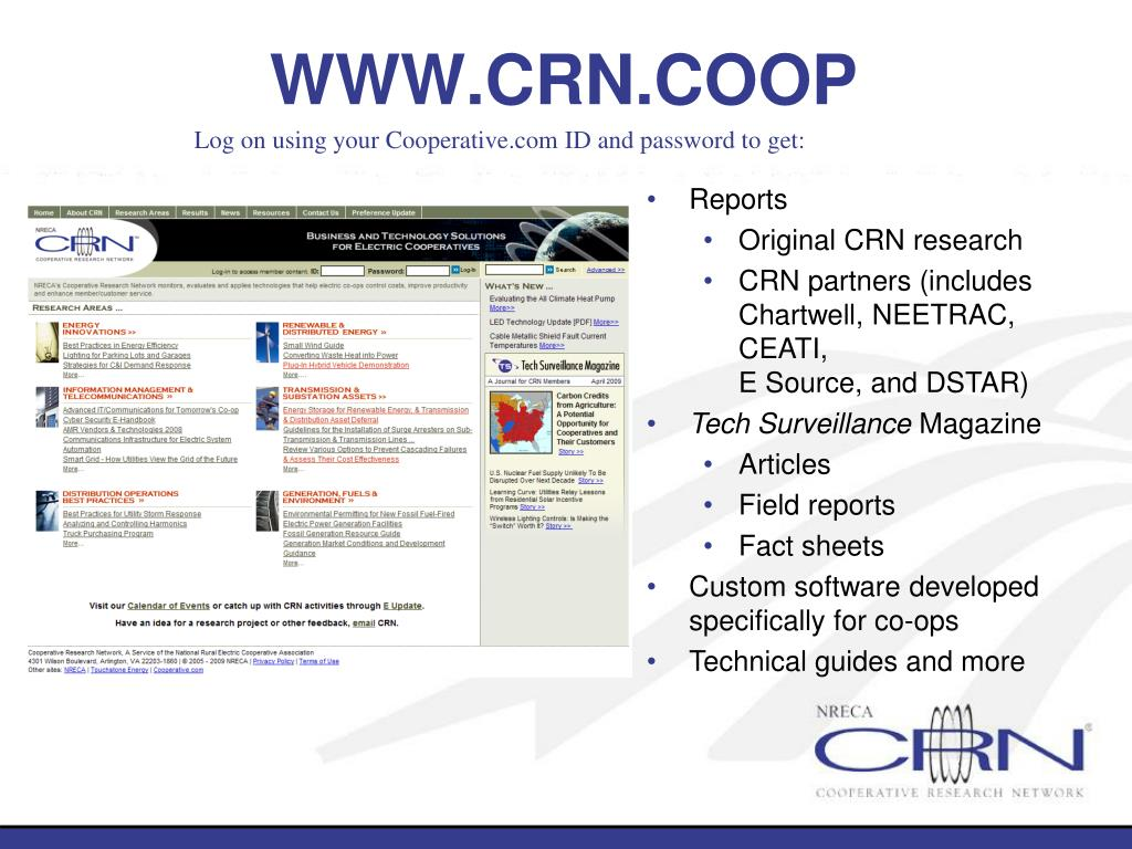 WWW.CRN.COOP