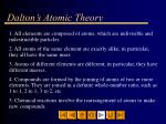 dalton s atomic theory6