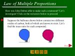 law of multiple proportions13