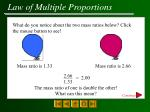 law of multiple proportions16