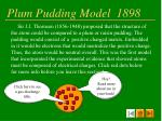 plum pudding model 1898
