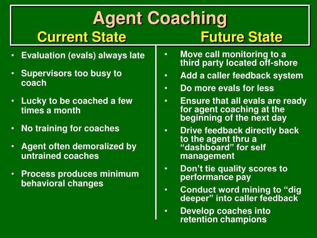 Agent Coaching