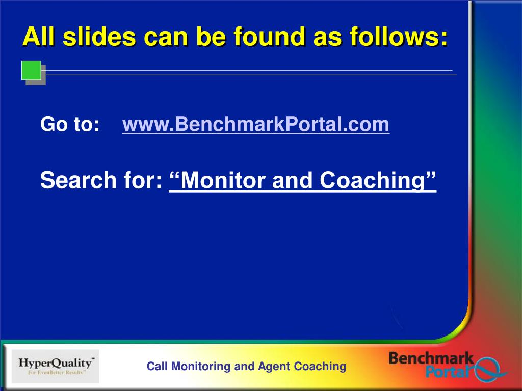 All slides can be found as follows: