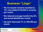 business lingo
