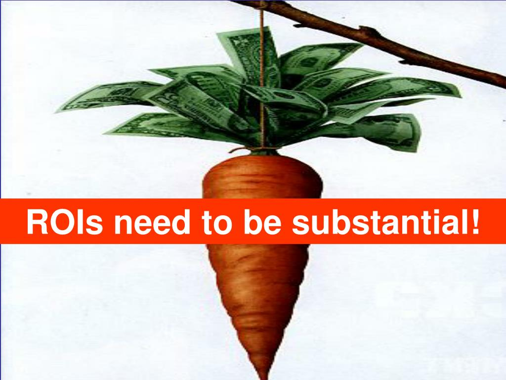ROIs need to be substantial!