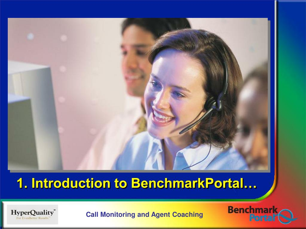 1. Introduction to BenchmarkPortal…