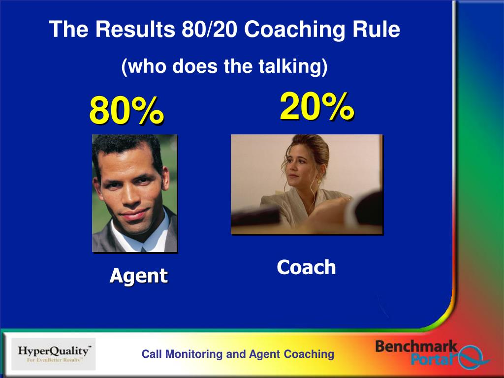The Results 80/20 Coaching Rule