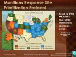 munitions response site prioritization protocol2