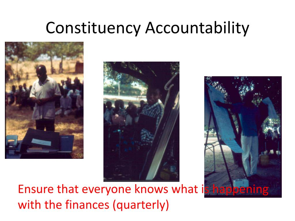 Constituency Accountability