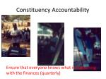 constituency accountability