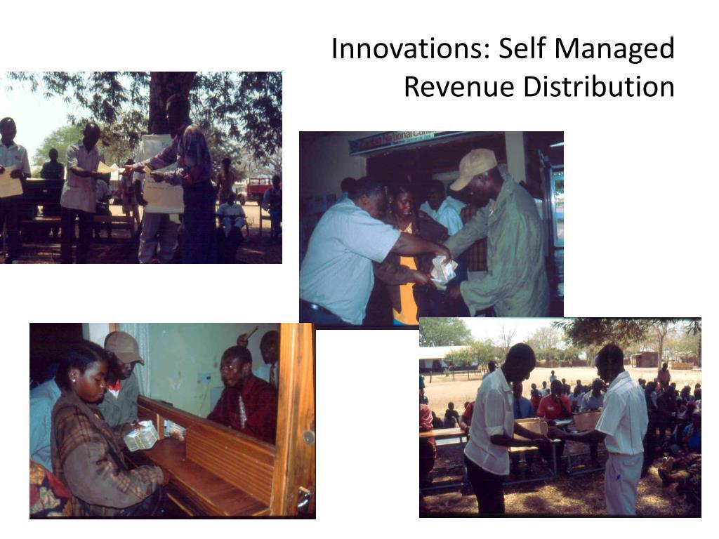 Innovations: Self Managed