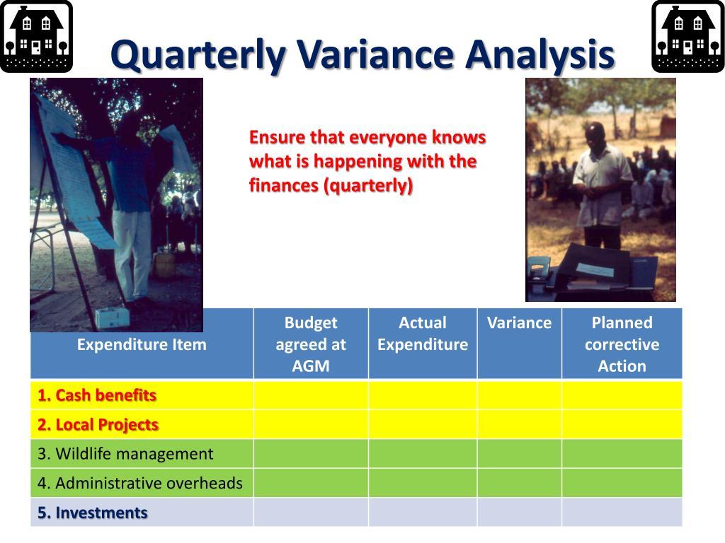 Quarterly Variance Analysis