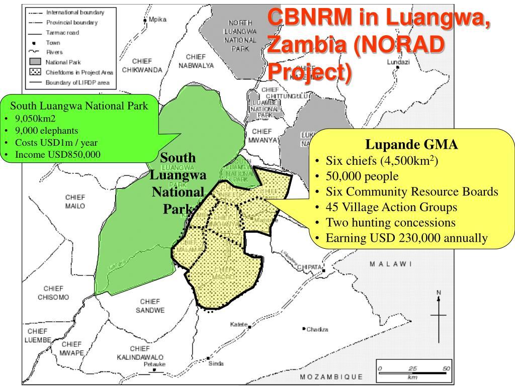 CBNRM in Luangwa, Zambia (NORAD Project)
