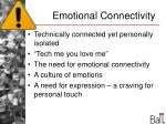 emotional connectivity