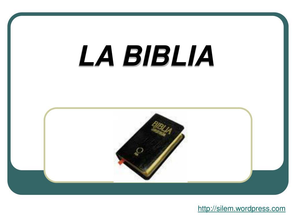 la biblia l.