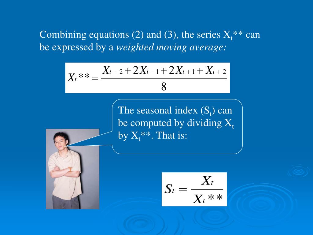 Combining equations (2) and (3), the series X