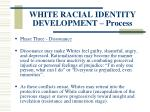white racial identity development process123