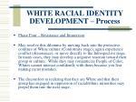 white racial identity development process127
