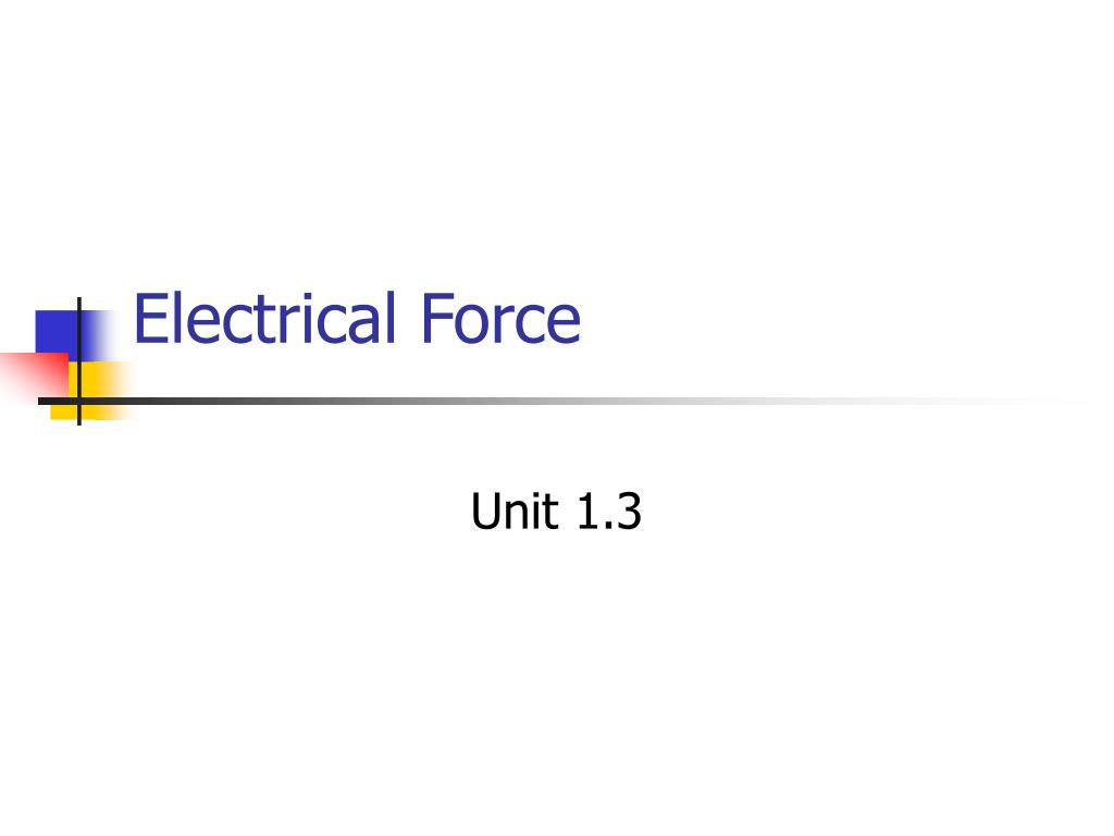 electrical force l.