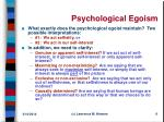psychological egoism6